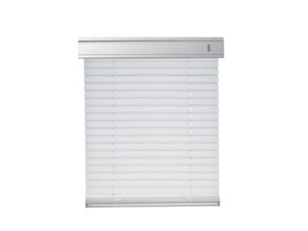 Contrio Store vénitien pour fenêtre de toit PAR U4A blanc
