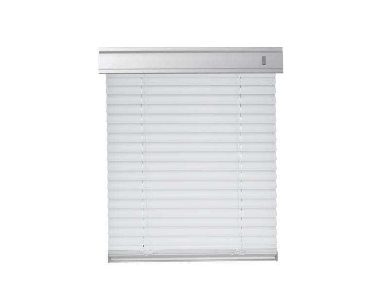 Contrio Store vénitien pour fenêtre de toit PAR U8A blanc