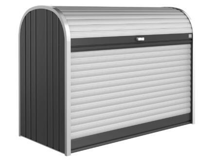 Biohort StoreMax 160 rangement extérieur 163x78x120 cm gris foncé métallique