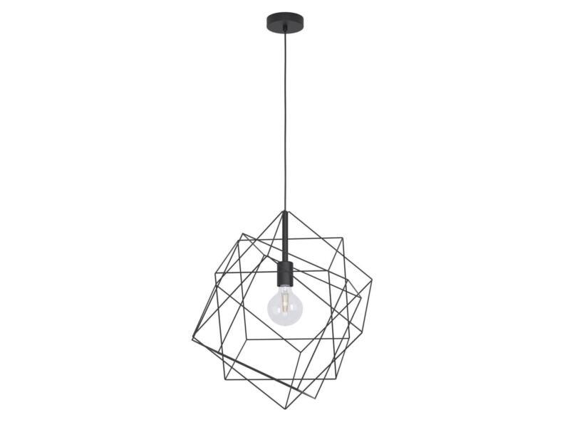 Eglo Straiton hanglamp E27 max. 60W 51,5cm zwart