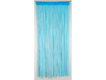 Confortex String rideau de porte 90x200 cm bleu