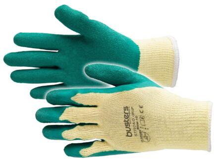 Busters Strong Grip gants de travail L latex vert