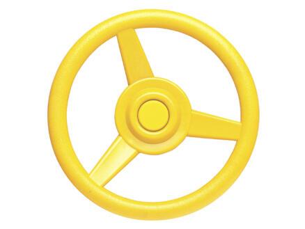 Stuurwiel 30cm geel
