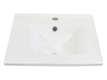 Style lavabo 60cm blc