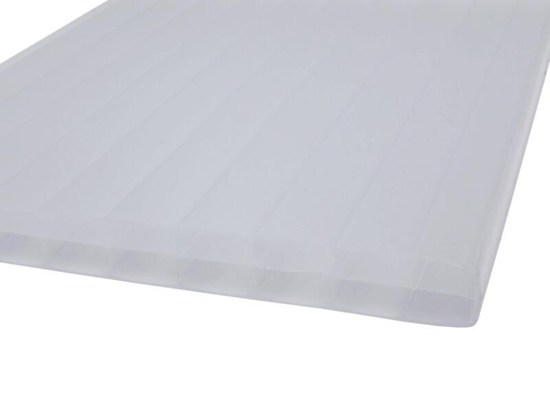 Scala Sunlite meerwandige polycarbonaatplaat 200x105 cm 16mm opaal