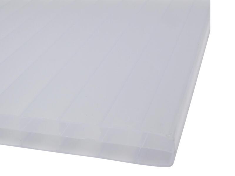 Scala Sunlite meerwandige polycarbonaatplaat 400x98 cm 16mm opaal