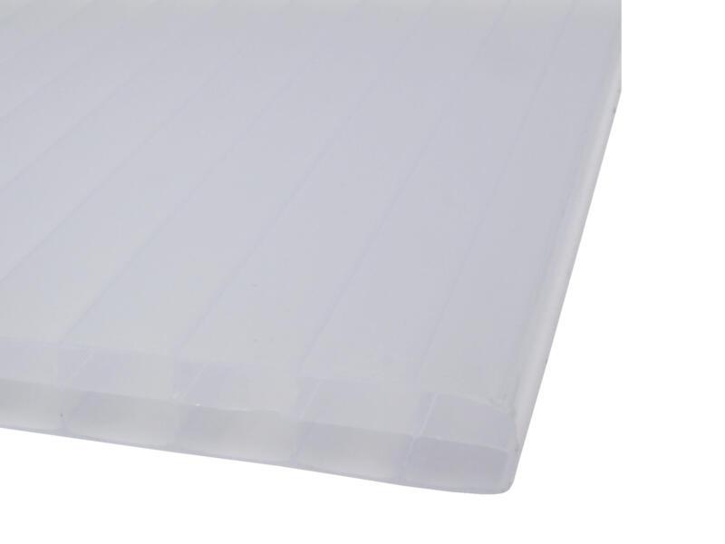 Scala Sunlite meerwandige polycarbonaatplaat 700x98 cm 16mm opaal
