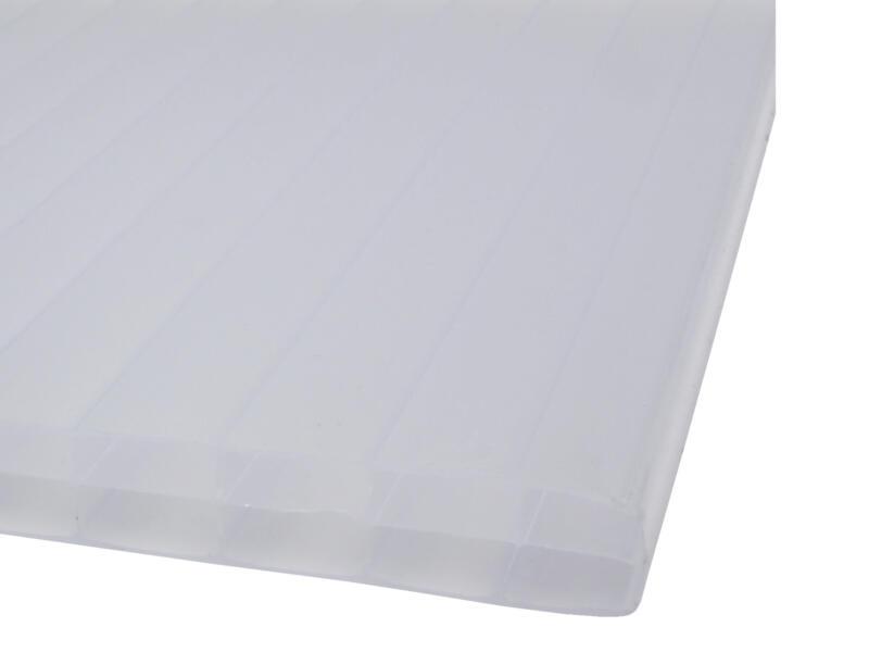 Scala Sunlite plaque de polycarbonate à parois multiples 300x98 cm 16mm opalin