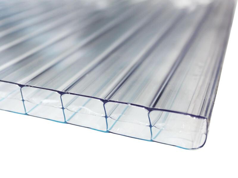 Scala Sunlite plaque de polycarbonate à parois multiples 350x105 cm 10mm clair