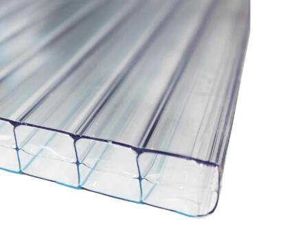 Scala Sunlite plaque de polycarbonate à parois multiples 400x98 cm 16mm transparent