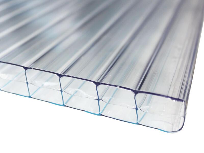 Scala Sunlite plaque de polycarbonate à parois multiples 500x105 cm 16mm clair
