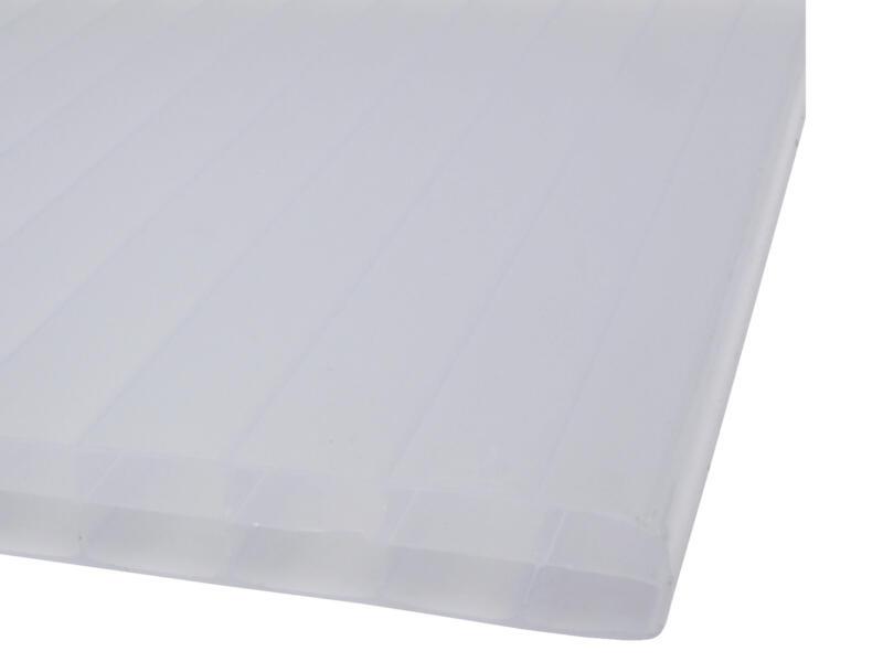 Scala Sunlite plaque de polycarbonate à parois multiples 500x98 cm 16mm opalin