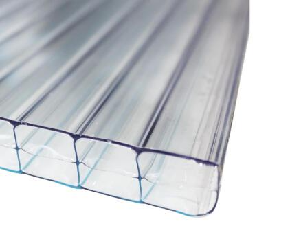 Scala Sunlite plaque de polycarbonate à parois multiples 500x98 cm 16mm transparent