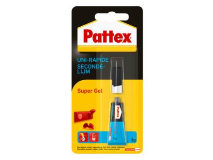 Pattex Super Gel colle uni-rapide 3g