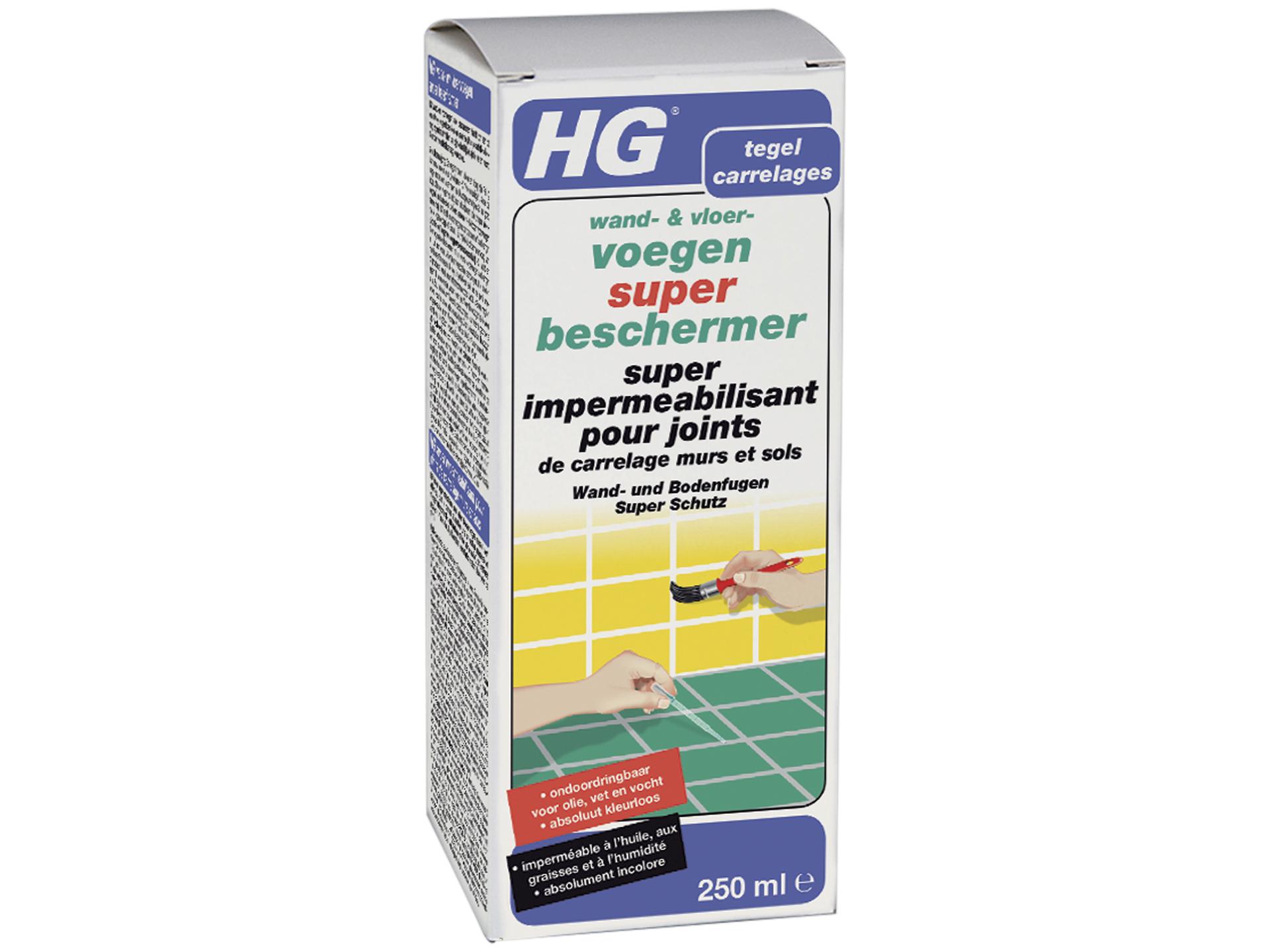 hg super imperméabilisant pour joints de carrelage murs et sols ... - Impermeabiliser Joints Carrelage Salle De Bain