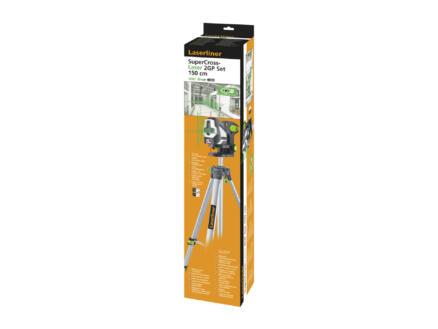 Laserliner SuperCross-Laser 2GP kruislijnlaser + statief 150cm