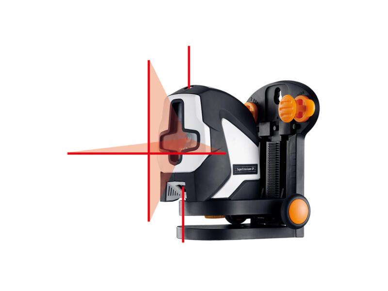 Laserliner SuperCross-Laser 2P RX kruislijnlaser + statief 150cm