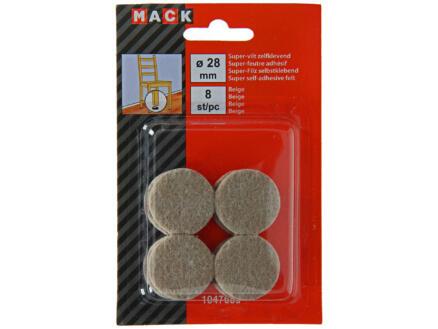 Mack Superfeutre 28mm 8 pièces