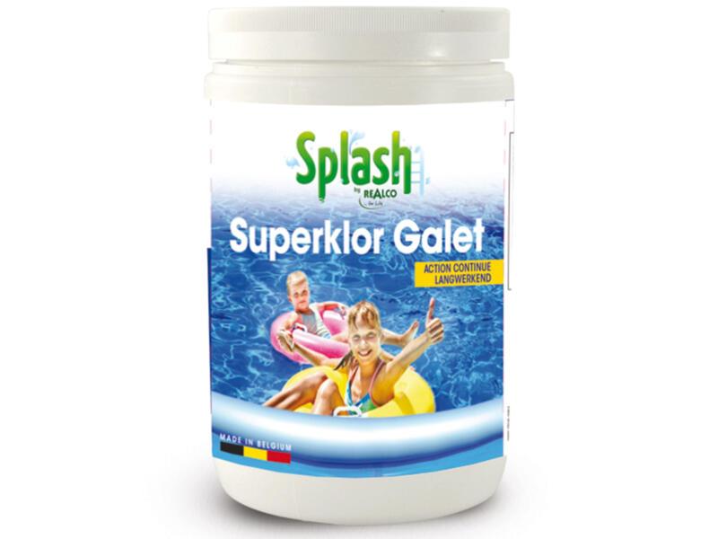 Splash Superklor Galet chloortabletten 1kg