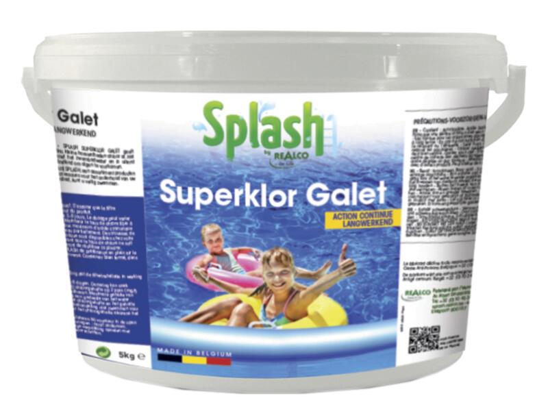 Splash Superklor Galet chloortabletten 5kg