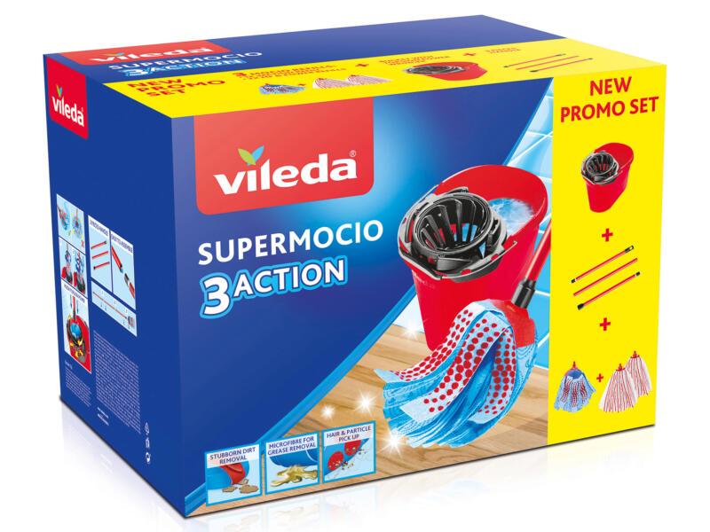 Vileda Supermocio 3 Action set de nettoyage vadrouille mop