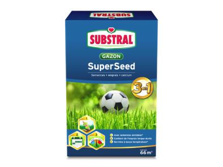 Evergreen Superseed 3-en-1 semence gazon 2kg