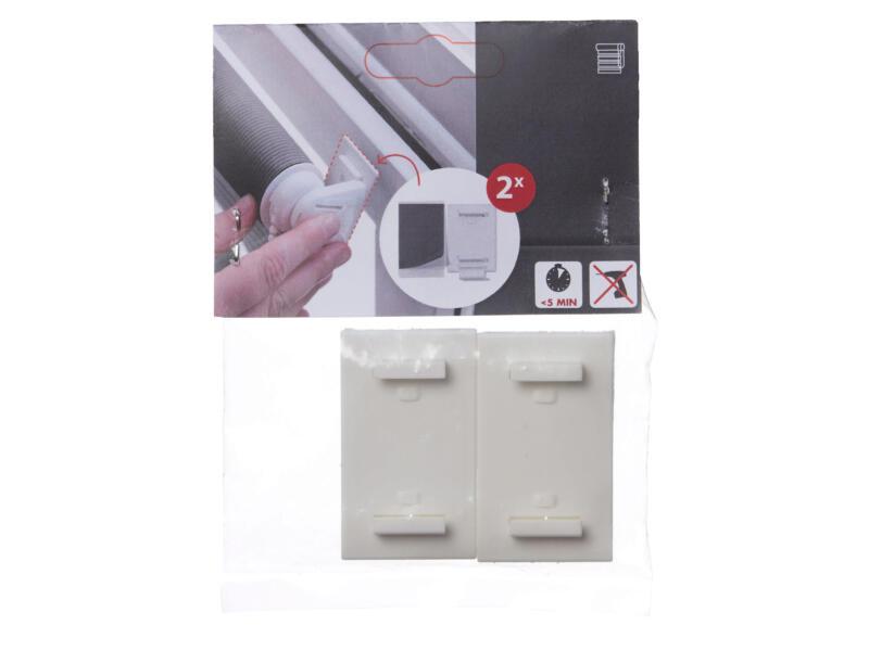 Decosol Support adhésif pour store vénitien et fenêtre oscillo-battante