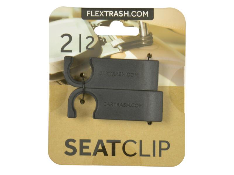 Flextrash Support appui-tête pour poubelle portable 2 pièces