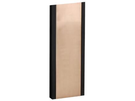 Allux Support boîte aux lettres 1001 noir cuivre