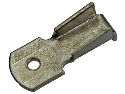 Support crémaillère 16x6 mm 8 pièces