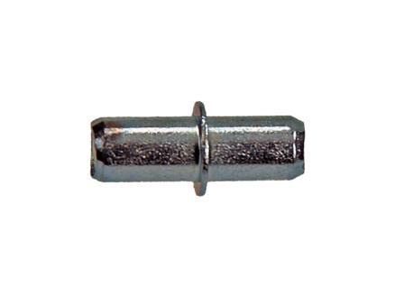 Support d'étagère acier 5x16 mm 20 pièces