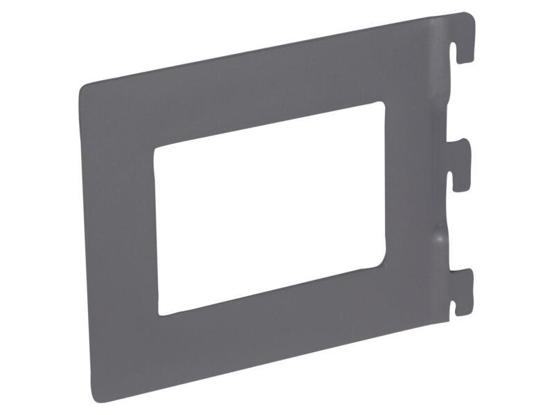 Support de livres 14,2x11,8 cm aluminium