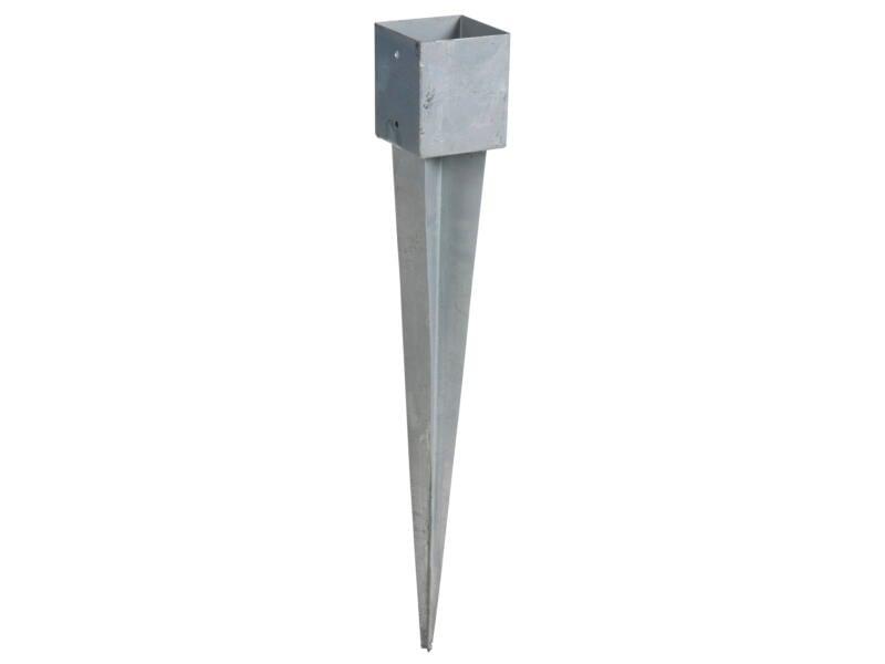 Practo Garden Support de poteau à enforcer 12x12 cm