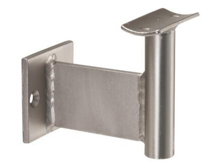 CanDo Support de rampe d'escalier Detroit aspect inox 2 pièces