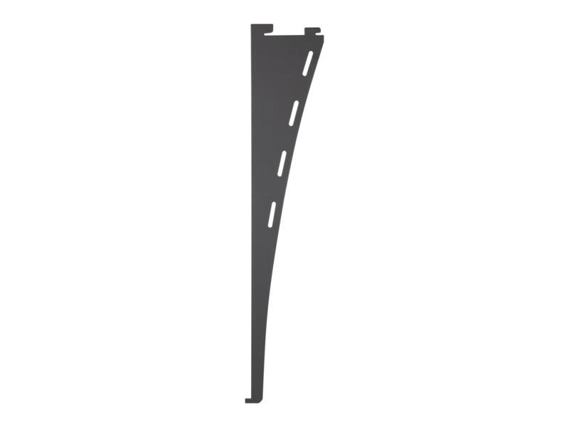 Support design simple 35cm aluminium