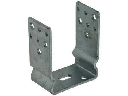 Support en U 91x60x125 mm galvanisé