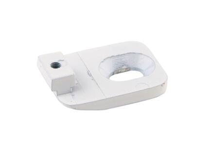 Support plafond mini pour tringle à rideau 16mm/32x11 mm blanc 2 pièces