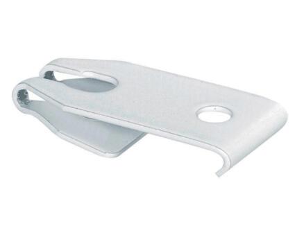 Support plafond pour rail de rideau AVR55 blanc 6 pièces
