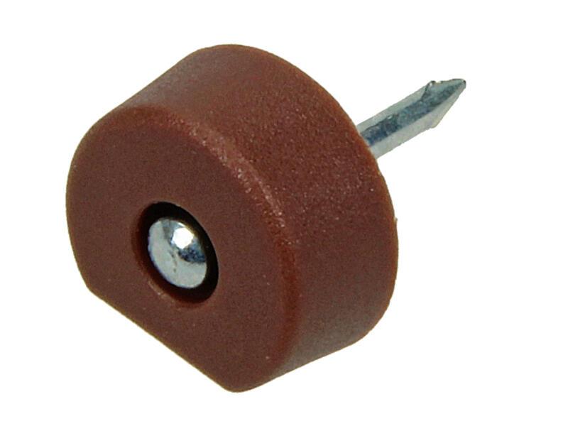 Support planches avec clou 10mm brun 20 pièces