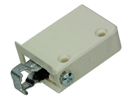 Support pour suspension armoire 57x38x18 mm blanc