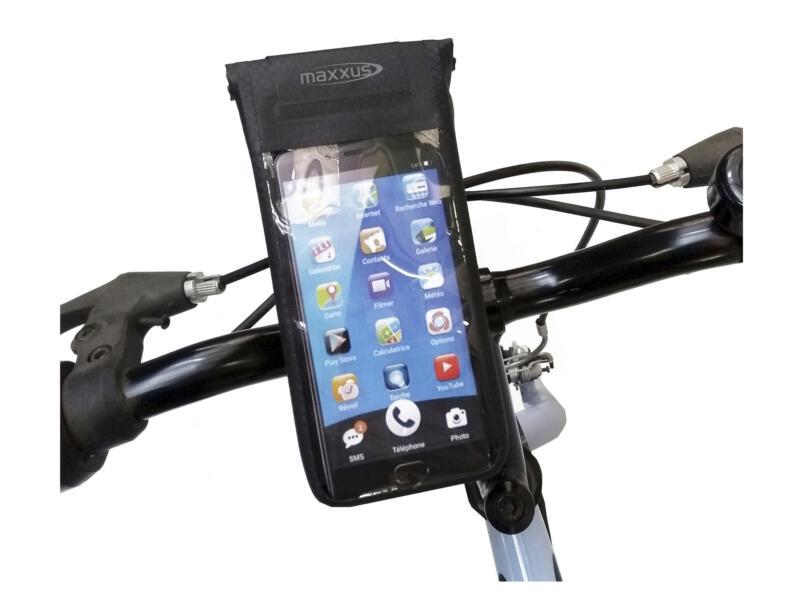 Maxxus Support smartphone étanche pour vélo noir