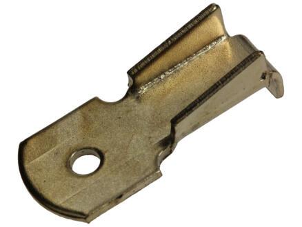 Supports crémaillères 16x6 mm laiton 8 pièces