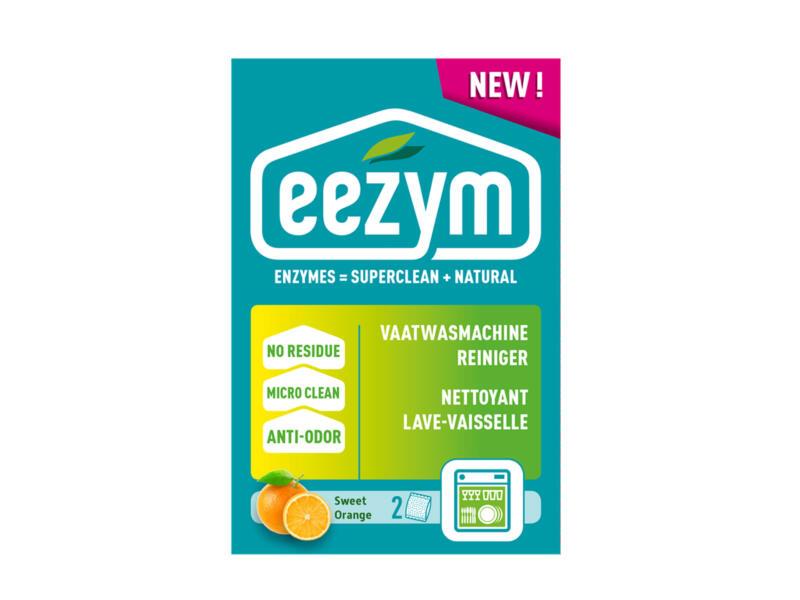 eezym Sweet Orange vaatwasmachinereiniger 2x125 g