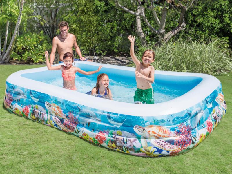 Intex Swim Center Tropical Reef zwembad 305x183x56 cm