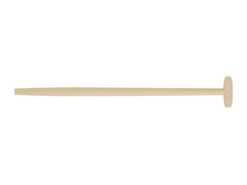 Polet T-spadesteel 90cm 36mm hout