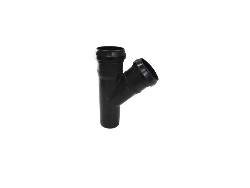 Scala T-stuk 45° MFF 50mm polypropyleen zwart