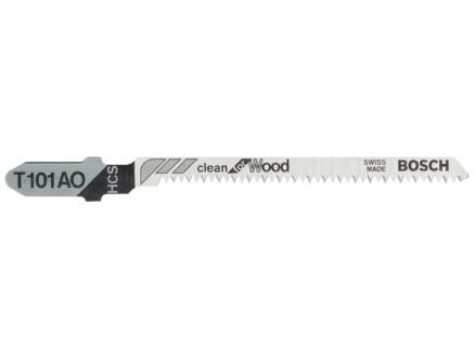 Bosch Professional T101AO decoupeerzaagblad HCS 83mm hout 5 stuks