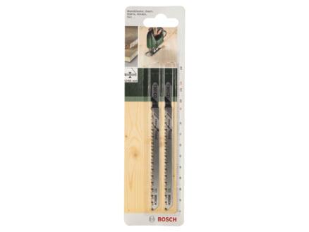 Bosch T301CD lame de scie sauteuse HCS 116mm bois 2 pièces