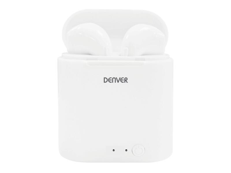 Denver TWQ-40P bluetooth écouteurs intra-auriculaires sans fil avec microphone intégré 120h