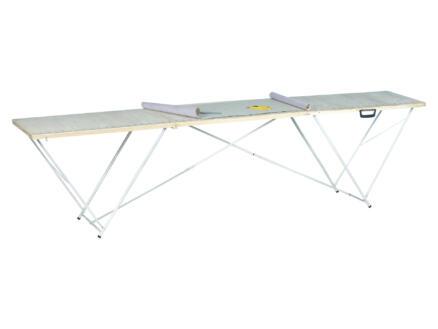 Practo Home Table à tapisser professionelle 3m bois
